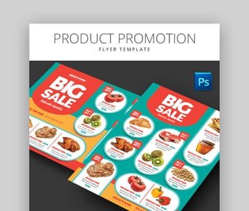 Product Promotion Clean Product Flyer Template