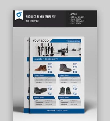 Elegant Product Flyer Template