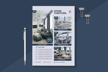 Interior Design Product Flyer Example