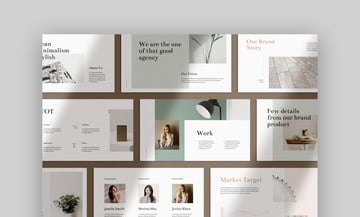 Feature Minimal PPT Templates