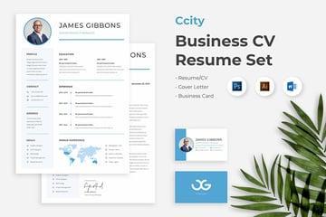 Business CV Resume Set