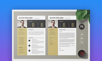 Business and Modern CV Resume Template