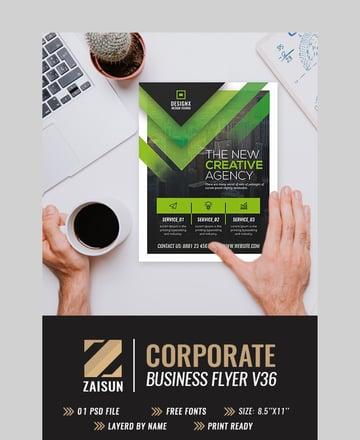 Business Flyer V36 - Bold Flyer Inspiration