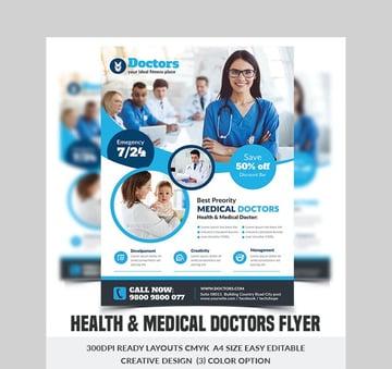 Health  Medical Doctors Flyer - Great Flyer Inspiration For Medical Industry