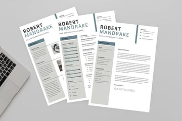Web Designer Resume Template With Matching Cover Letter