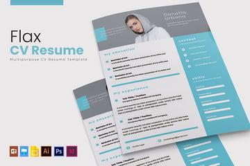 Flax Resume CV