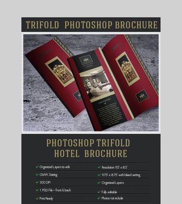 Elegant Brochure - Photoshop Brochure Template