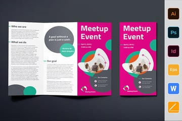 Meetup Event Brochure