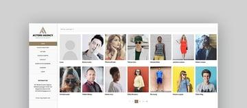 Actors - Clean WordPress Theme For Actors