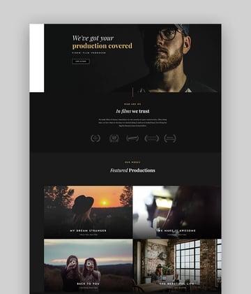 Fromota - Dramatic WordPress Acting Theme