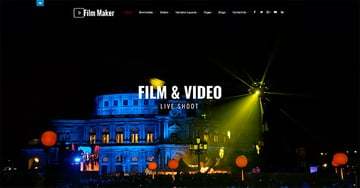 SKT Filmmaker - Free WordPress Theme For Actors