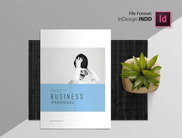 Free Business Proposal InDesign Template