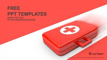 First Aid Kit Free Medical PowerPoint Presentation