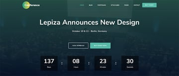 The Conference - WordPress Theme For Speakers And Conferences