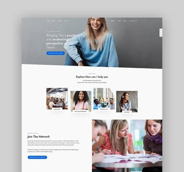 DotLife Coach and Speaker Theme For WordPress