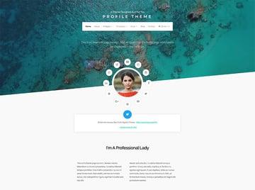 Profile Lite - WordPress Speaker Theme