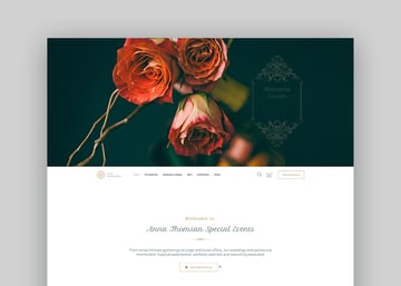 Alis - Wedding Planner WordPress Theme