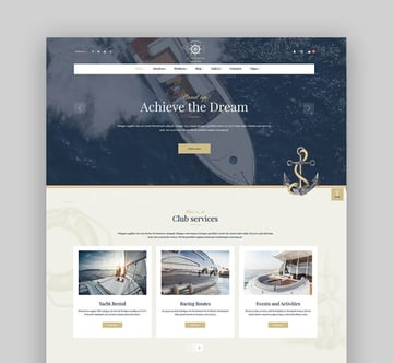 Lamaro - Water Taxi Template WordPress Theme