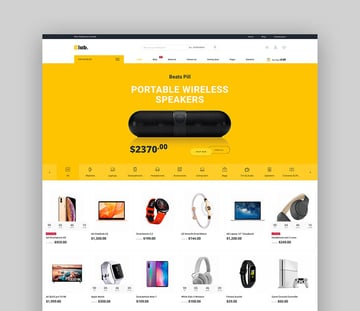 eLab - Multivendor WordPress WooCommerce Theme