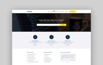 HelpDesk - WordPress Support Center And Forum Theme