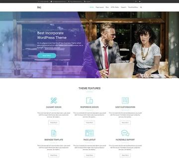 Inc - WordPress Free Theme For Forums