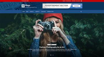 Mags - WordPress Free Forum Theme