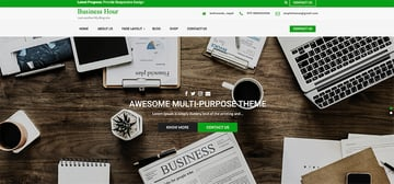 Business Hour Coworking Co Creative Space WordPress Theme Free Download