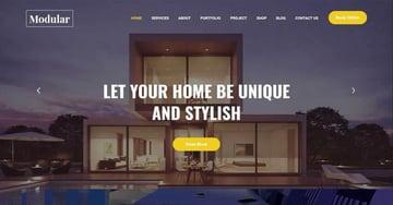 Modular Lite -Coworking Co Creative Space WordPress Theme Free Download