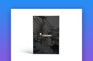 Construction A4 Brochure Template