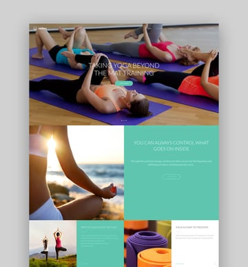 Asana - Yoga And Dance Studio WordPress Theme