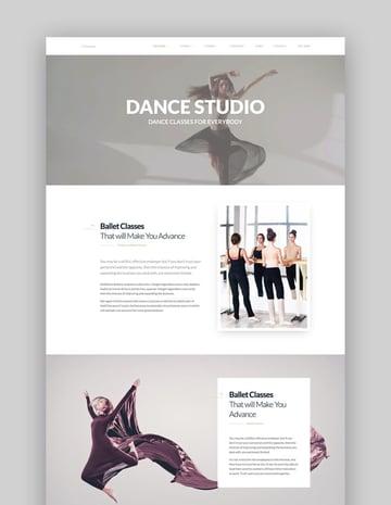 Dance WordPress Theme - Dancing Academy WordPress Theme