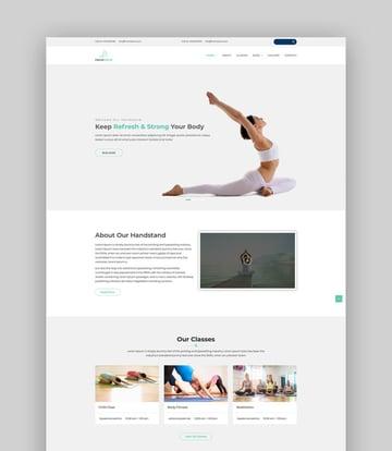 Handstand - Fresh WordPress Theme For Dance and Yoga Studios