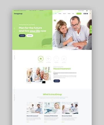 Insugroup  A Clean Insurance  Finance WordPress Theme