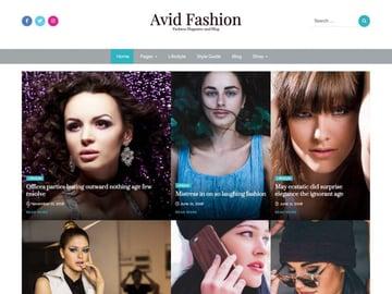 Avid Fashion - Model Agency WordPress Theme Free