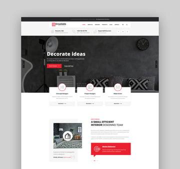 Crystalo - Architecture and Interior Design WordPress Theme