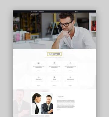 Accountant  Accounting WordPress Template
