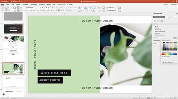 Customizing colors in your template