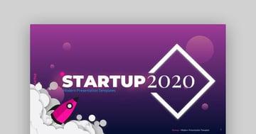 2020 Startup  Multipurpose PowerPoint Template
