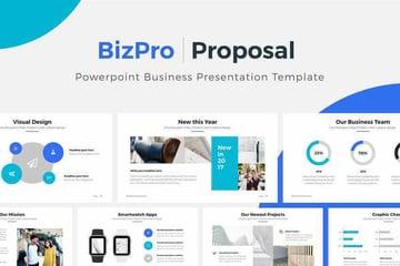 BizPro Business PowerPoint Presentation Template