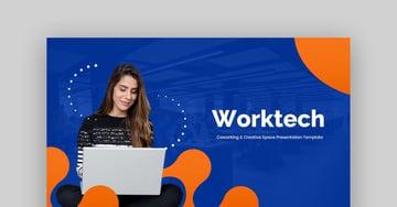 Coworking Creative Space Google Slides Presentation Templates