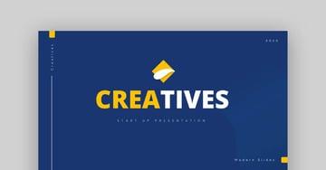 Creatives Creative Business Google Slides Template