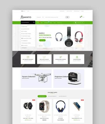 Amanto  Multi-Purpose Shopify Theme for Electronics Store