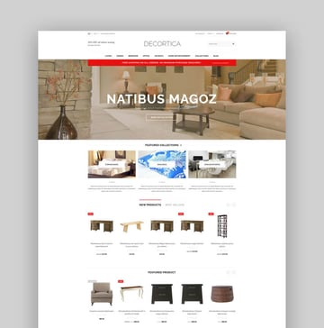 DECORTICA - Responsive Shopify Template