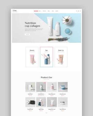 Uray - Fashion Furniture Cosmetic Beauty Shopify Template