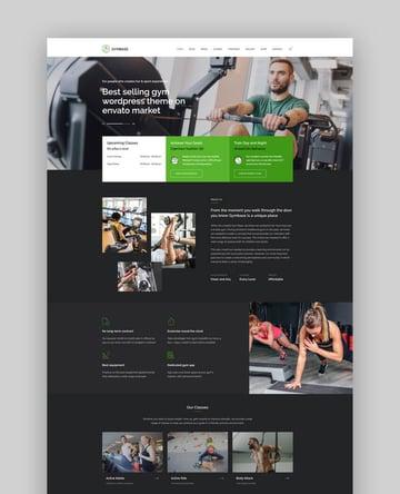 GymBase - Gym CrossFit Fitness Trainer WordPress Theme