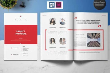 Project Proposal template could be used for continuation proposal