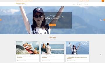 Refresh Blog - Free WordPress Family Blog Theme