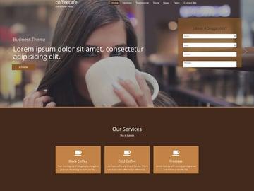 coffeecafe - WordPress Theme