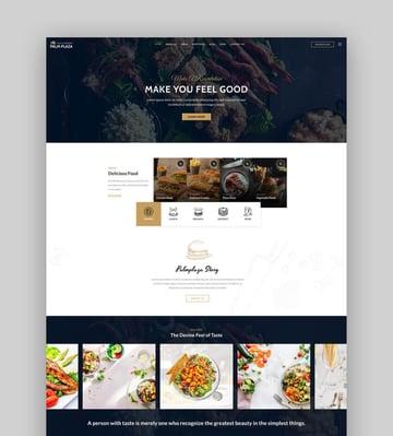 Palmplaza - Restaurant  Cafe WordPress Theme