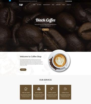 SKT Cafe - WordPress Theme
